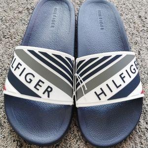New Tommy Hilfiger Mens slides size 8